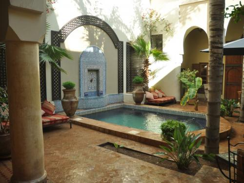 Riad-Dar-Sultana Patio 3